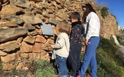 Inaugurado los dos primeros senderos literarios de Almería en Laroya