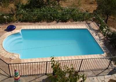 piscina desde lo alto
